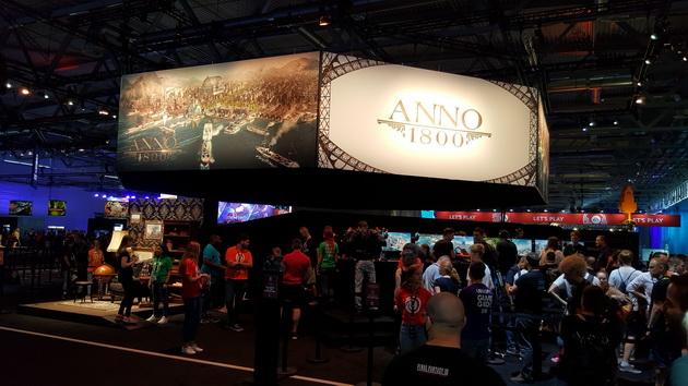 Gamescom 2018 - Anno 1800 na stoisku Ubisoft