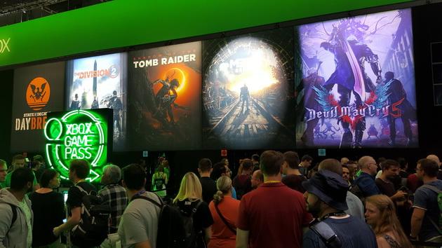 Gamescom 2018 - gry na stoisku Xbox One