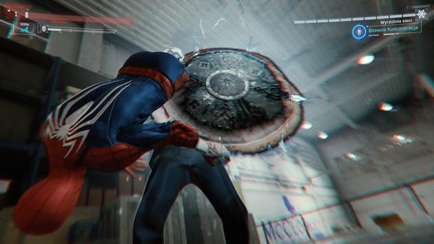 Spider-Man - wykończenie
