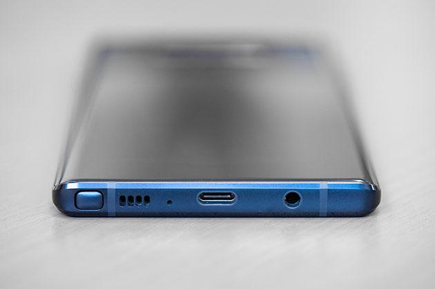 Samsung Galaxy Note 9 - wyjście słuchawkowe 3,5 mm