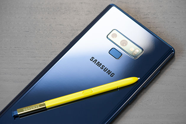 Samsung Galaxy Note 9 - piórko