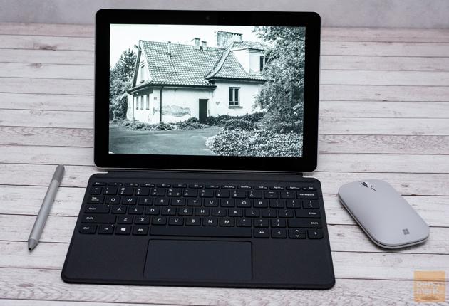 Zdjęcia na Microsoft Surface Go monochromatyczne