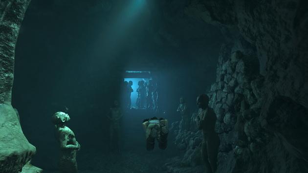 Shadow of the Tomb Raider - podwodne korytarze