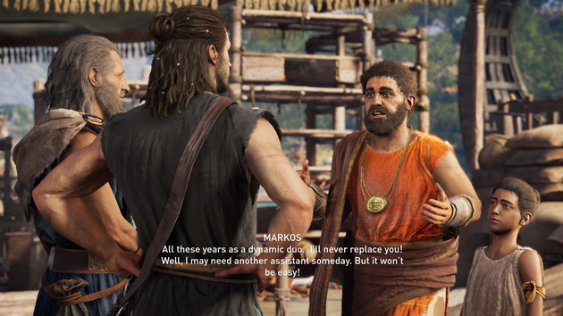 Assassin's Creed Odyssey - Alexios i inni bohaterowie