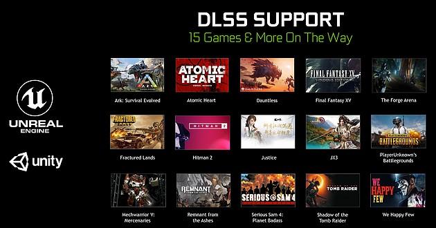Gry ze wsparciem DLSS