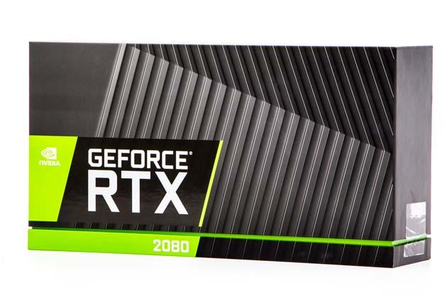 Pudełko karty NVIDIA GeForce RTX 2080