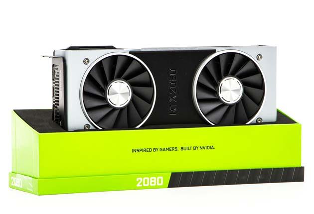 NVIDIA GeForce RTX 2080 w pudełku