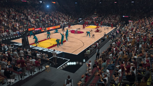 NBA 2K19 - rozgrzewka