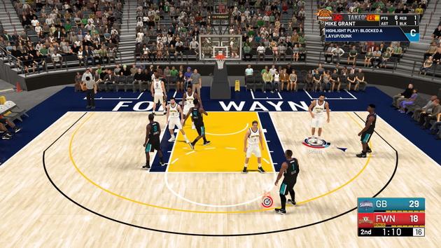 NBA 2K19 - rzut