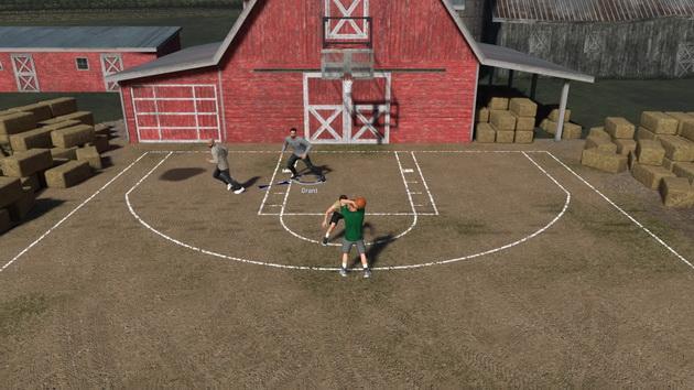 NBA 2K19 - podwórkowy kosz