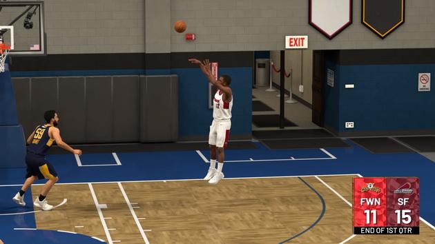 NBA 2K19 - rzut za 3