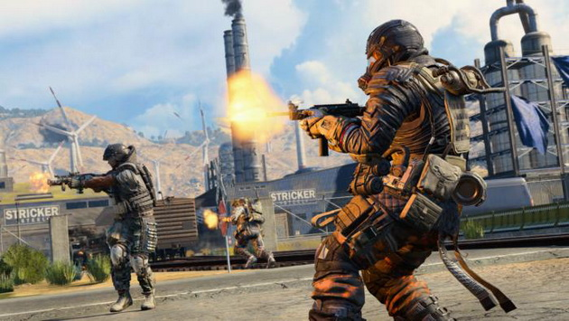 Call of Duty: Black Ops 4 Blackout - szturm