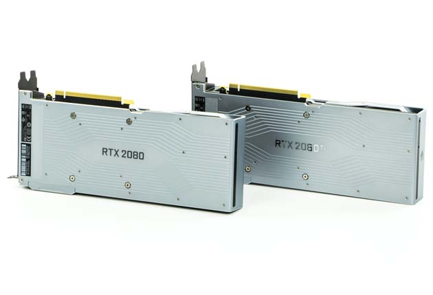 Backplate NVIDIA RTX