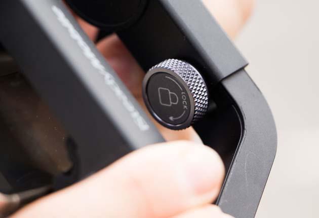 Hohem iSteady Mobile - system wyważania telefonu z pokrętłem zaciskowym