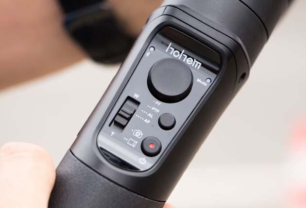Hohem iSteady Mobile - panel sterowania