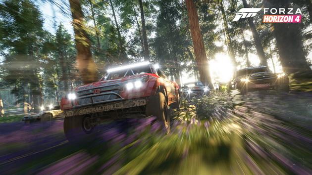 Forza Horizon 4 - wyścig