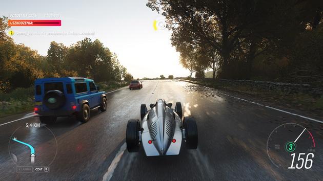 Forza Horizon 4 - bolid na angielskiej drodze