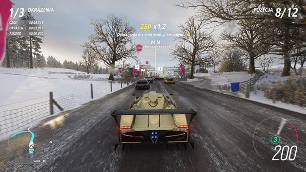 Forza Horizon 4 - śnieg i błoto