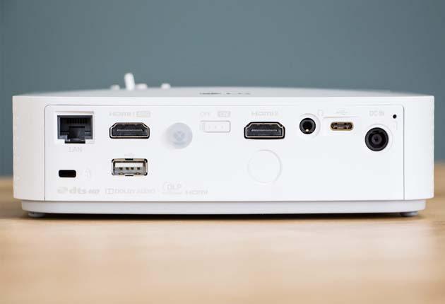 LG PF50KS - porty