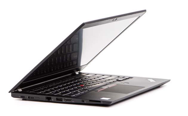 Lenovo ThinkPad T480s - rzut z boku
