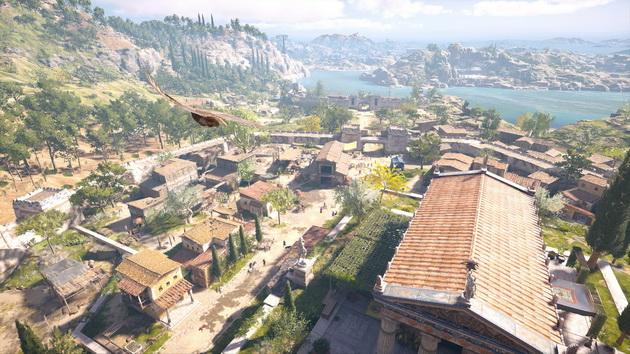 Assassin's Creed Odyssey - wielka mapa