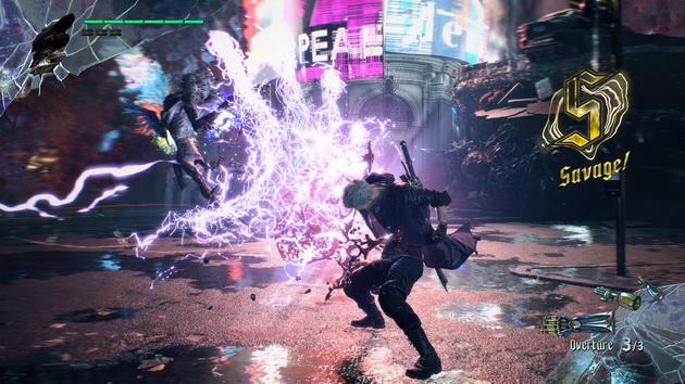 Devil May Cry 5 - na ekranie dużo się dzieje