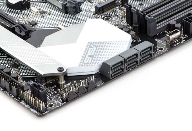 ASUS Prime Z390-A - porty SATA