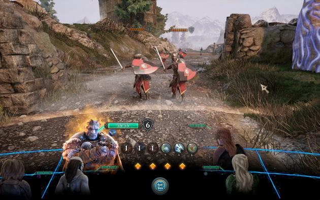 The Bard's Tale IV - walka z dwoma wojami