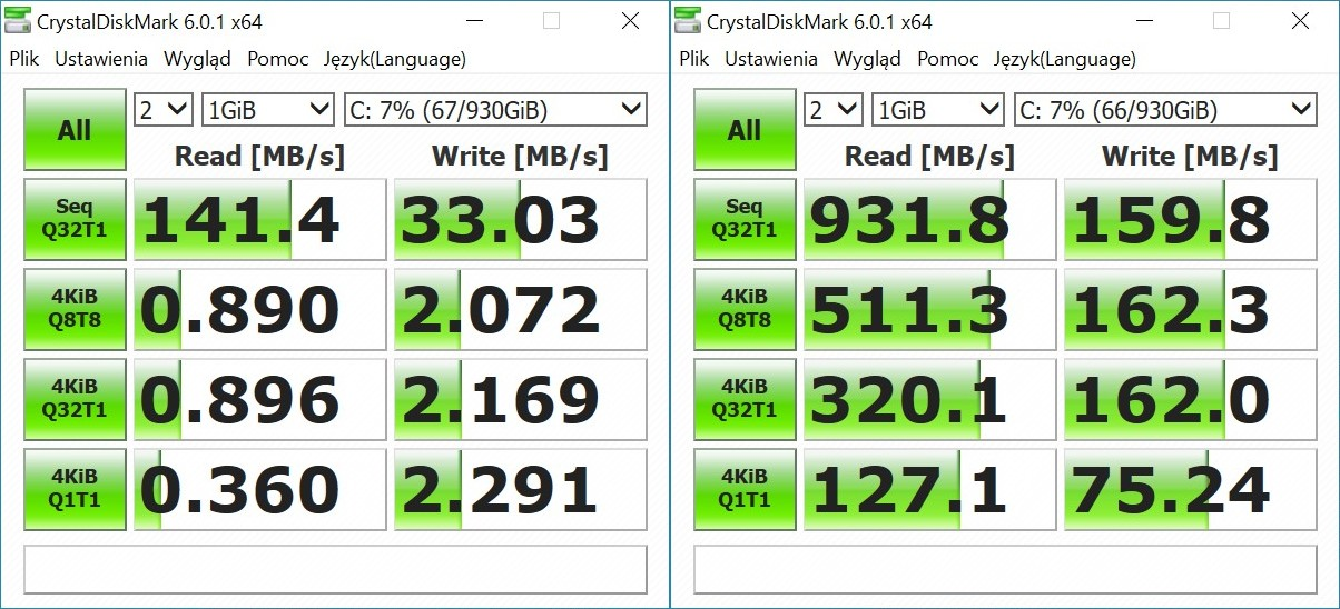 Intel Optane - test