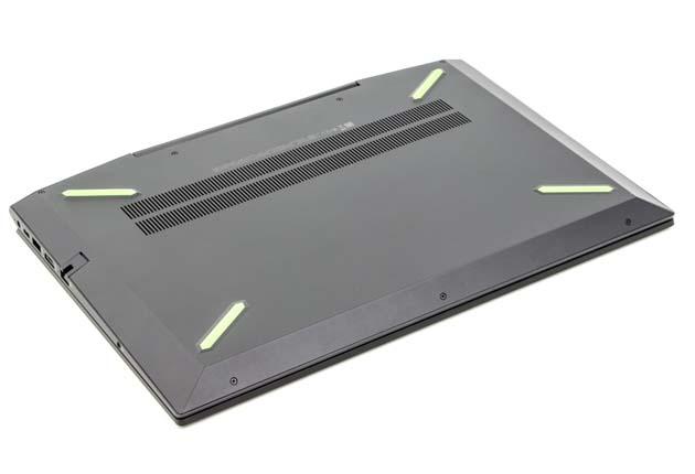 HP Pavilion Gaming 15-cx0006nw spód obudowy