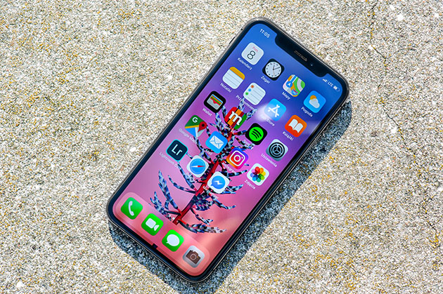iPhone XS - ekran