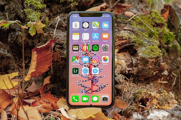 iPhone XS - wyświetlacz