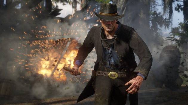 Red Dead Redemption 2 - z dynamitem w ręku