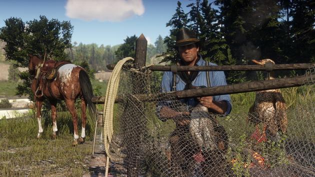 Red Dead Redemption 2 - polowanie na kaczki