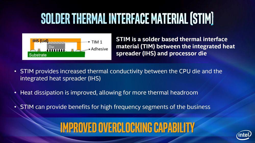 Intel - materiał termoprzewodzący