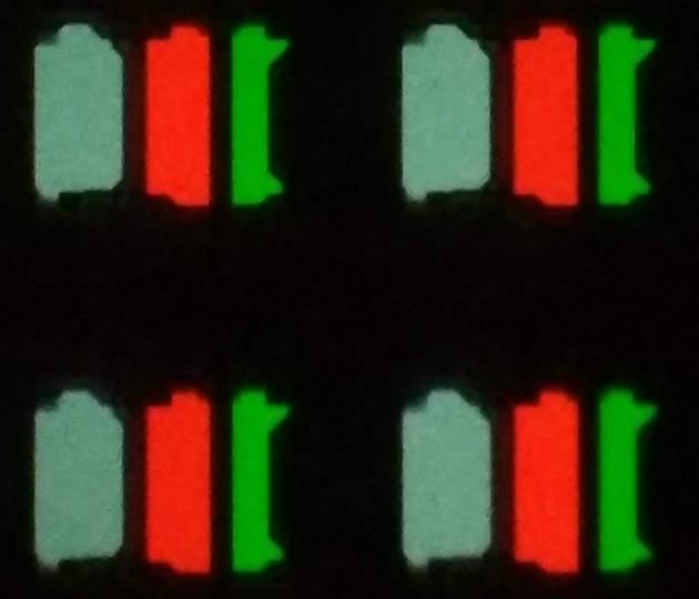 struktura subpixeli