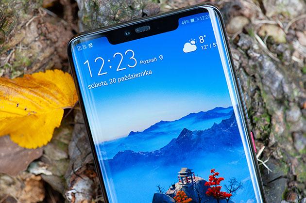 Huawei Mate 20 Pro wcięcie w ekranie