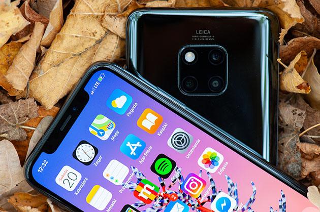 Huawei Mate 20 Pro ładowanie zwrotne
