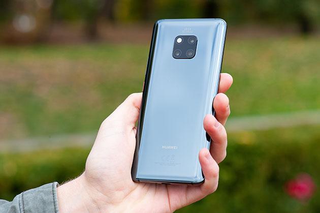 Huawei Mate 20 Pro ergonomia