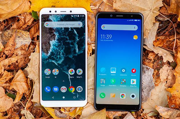 Xiaomi Redmi Note 5 czy Xiaomi Mi A2