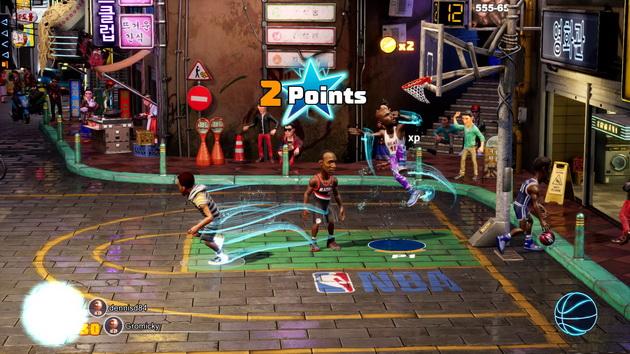 NBA 2K Playground 2 - bieg pod kosz