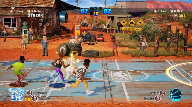 NBA 2K Playground 2 - na boisku w Australii