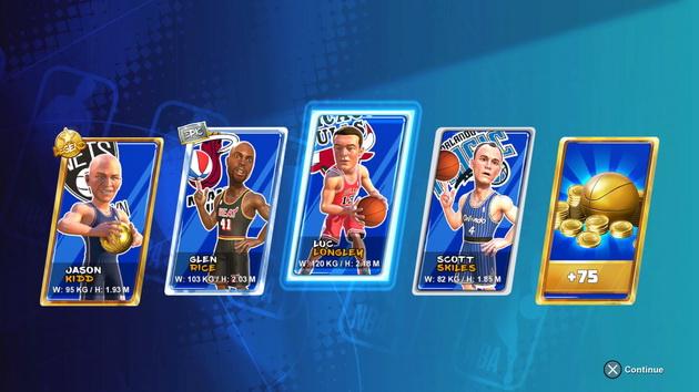 NBA 2K Playground 2 - karty zawodników