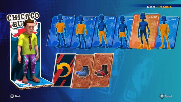 NBA 2K Playground 2 - stroje
