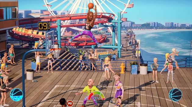 NBA 2K Playground 2 - wsad z 4 metrów