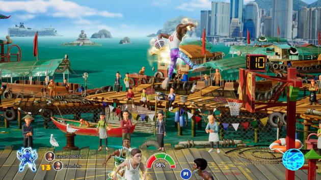 NBA 2K Playground 2 - wsad z akrobacjami