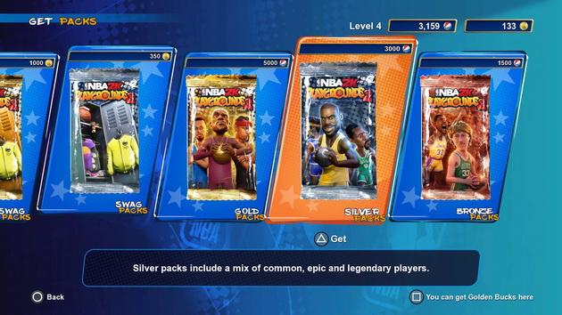 NBA 2K Playground 2 - paczki kart