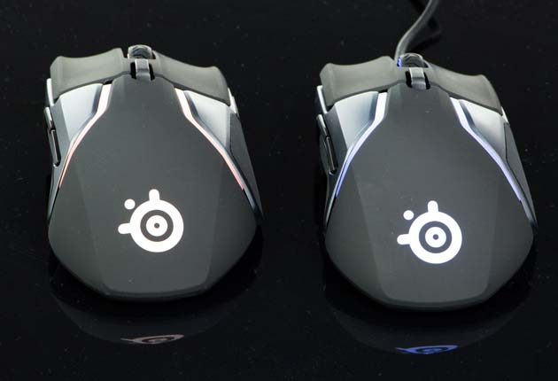 SteelSeries Rival 600 i Rival 650 - tył myszki