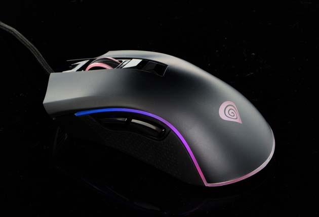 Genesis Krypton 770 - mysz z włączonym podświetleniem
