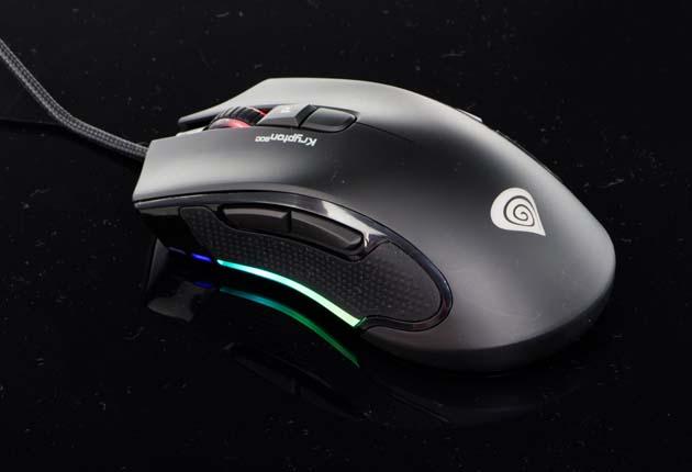 Genesis Krypton 800 - mysz w włączonym podświetleniem